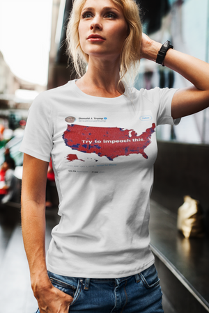 Impeach This Patriotic Shirt Women's