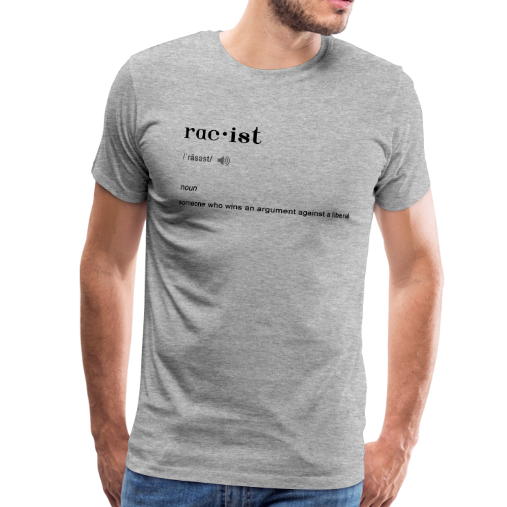 Men's Premium T-Shirt - heather gray