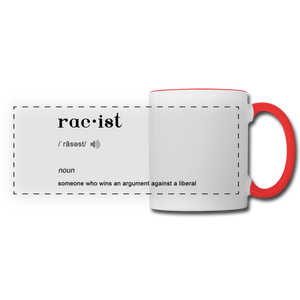 Panoramic Mug - white/red
