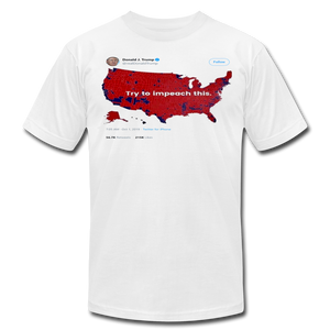 Impeach This Patriotic Shirt - white