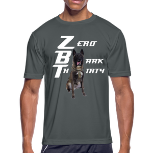 "Zero ""Bark"" Thirty T-Shirt - charcoal"