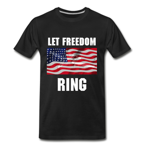 Let Freedom Ring - black
