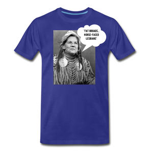 Chief Warren Shirt - royal blue