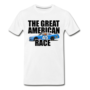 The Great American Race - white