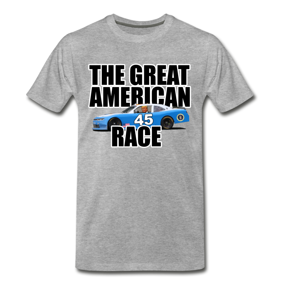 The Great American Race - heather gray
