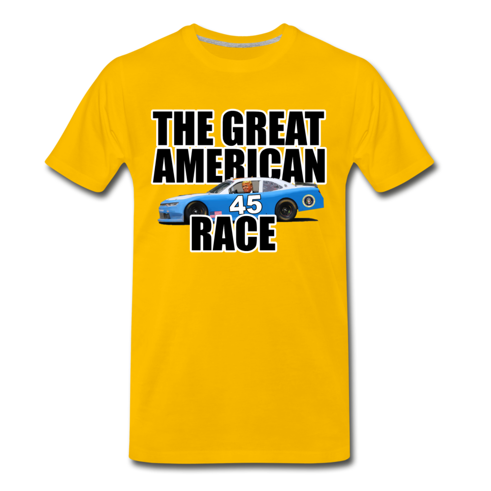 The Great American Race - sun yellow