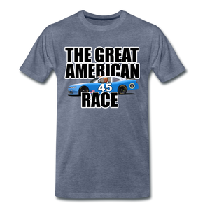 The Great American Race - heather blue