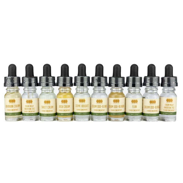 "Cream Variety 10 Pack - Flavored Liquid Concentrate ""Low Carb"""