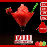 Daquiri (Emulsion) Flavored Liquid Concentrate OOOFLAVORS.COM The flavor of a good rum, with the contrasting sour and sweet elements, makes a delicious and refreshing cocktail flavor.
