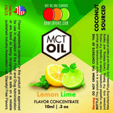 Natural Lemon Lime - MCT Concentrated Flavored Oil *Unsweetened*