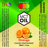 Natural Orange - MCT Concentrated Flavored Oil *Unsweetened*