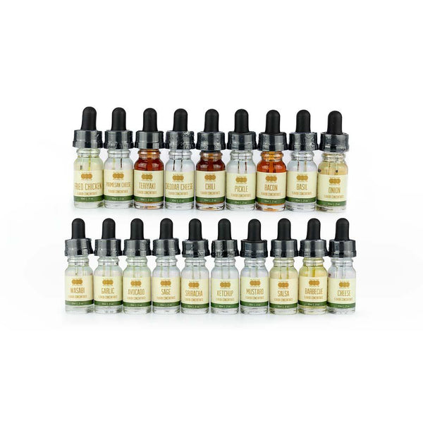 Savory Variety 19 Pack - Flavored Liquid Concentrate
