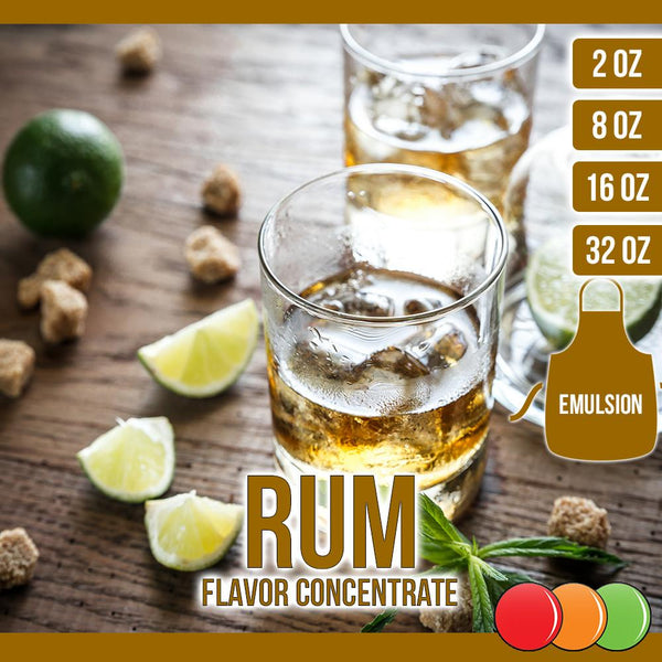 Rum (Emulsion) Flavored Liquid Concentrate