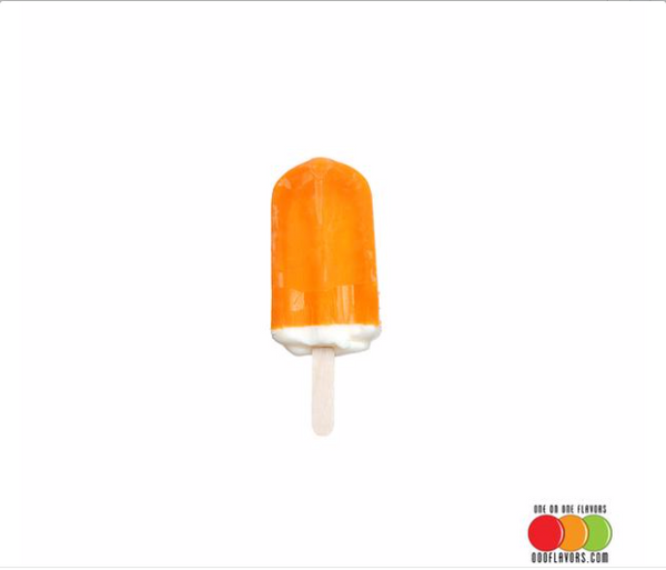 Orange and Ice Cream Flavoured Liquid Concentrate - 50/50 Bar
