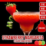 Strawberry Margarita (Emulsion) Flavored Liquid Concentrate OOOFLAVORS.COM A lovely spirit inspired margarita flavor with notes of sweet strawberry