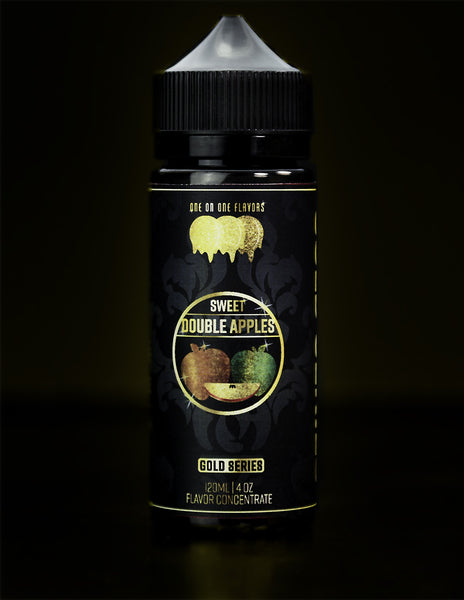 Gold Series - Sweetened Double Apple Flavored Liquid Concentrate