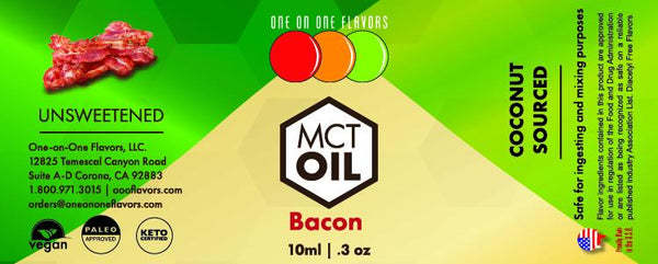 Natural Bacon - MCT Concentrated Flavored Oil *Unsweetened*