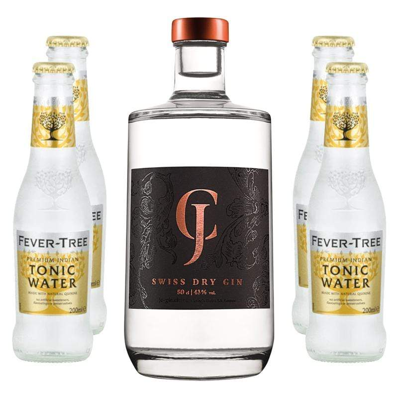 JC - Swiss Dry Gin & Fever-Tree Indian Tonic Water jc-gin