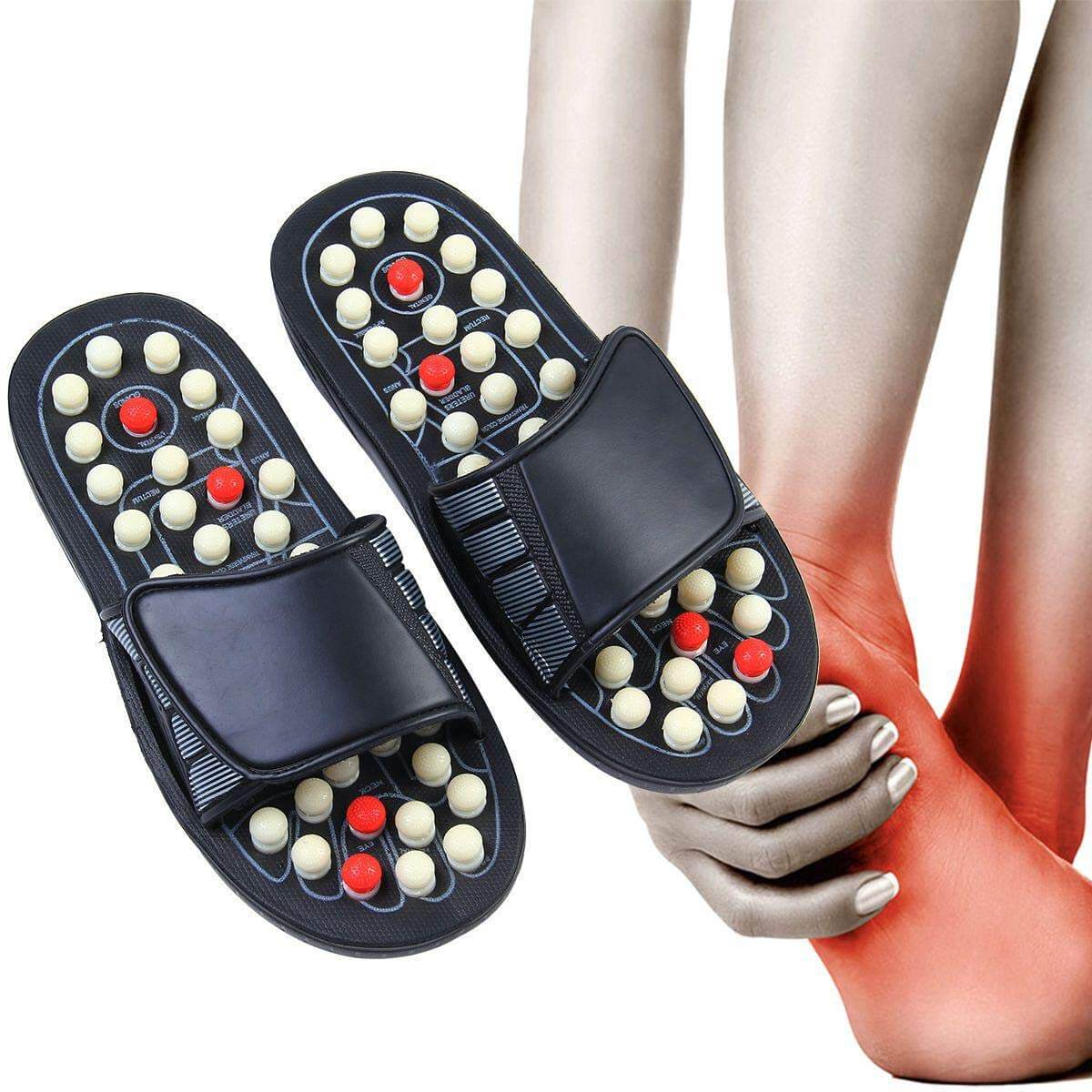 Acupressure Reflexology Foot Massage Slippers
