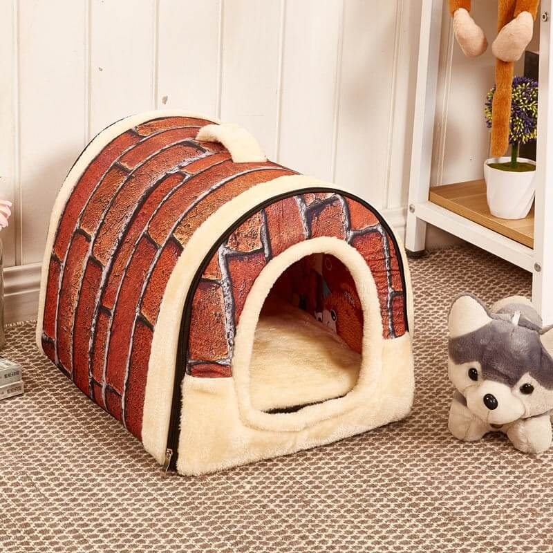 FOLDABLE FASHION PET DOG HOUSE CARRIER