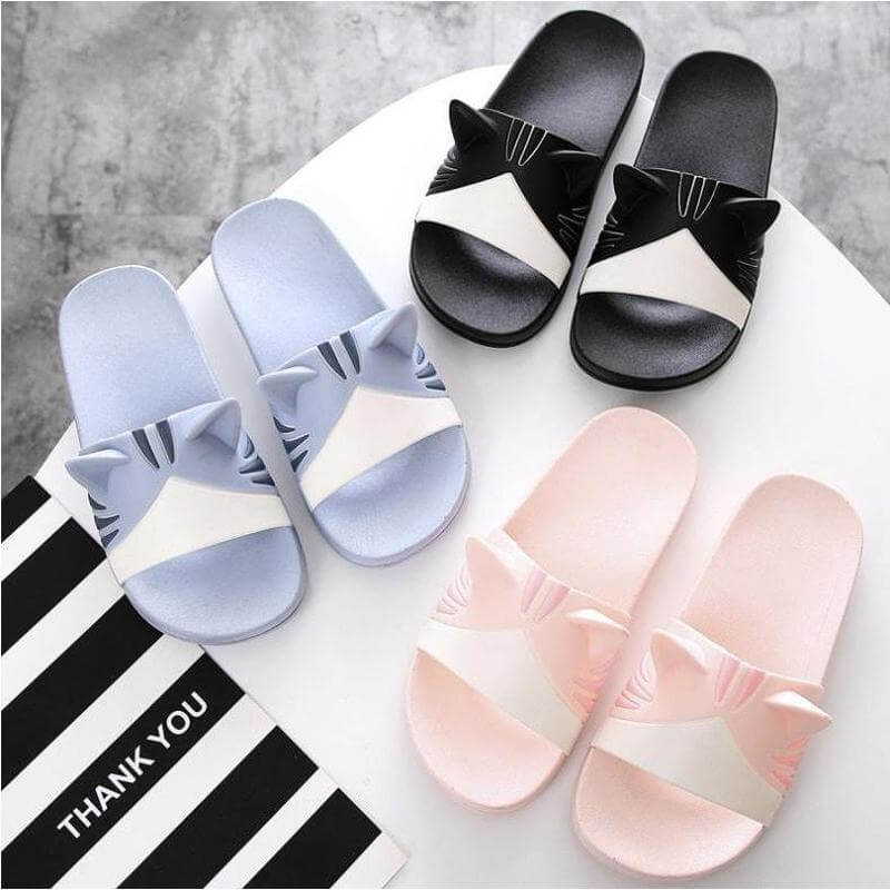 AMAZINGLY CUTE CAT EAR SANDALS