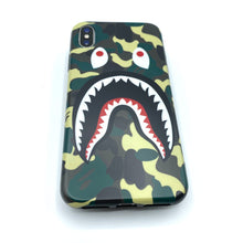 Load image into Gallery viewer, bape shark iphone case