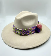 Load image into Gallery viewer, Suede hat, fashion Hat, handmade Hat