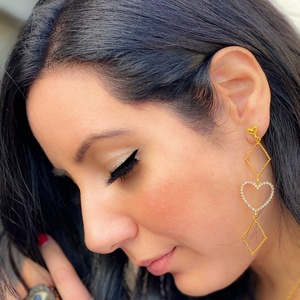 Geometry Love Earrings
