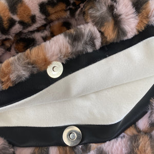 Faux Fur Purses