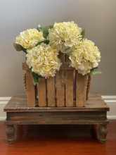 Load image into Gallery viewer, Faux Hydrangea - Cream