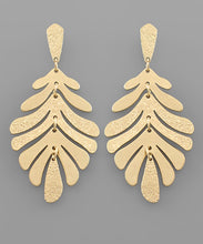 Load image into Gallery viewer, Leaf Drop Earrings (Pre Order)