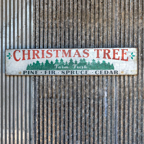 Pine, Fir, Spruce, Cedar Tree Sign