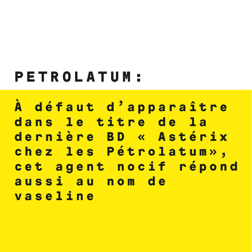 No Ingredients : Petrolatum