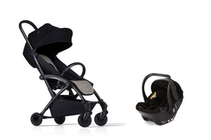 Bumprider Connect Black | Beige 2in1 Travel System