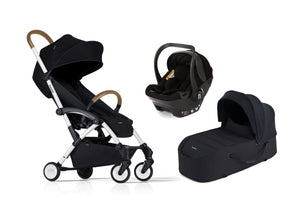 Bumprider Connect White | Black 4in1 Travel System