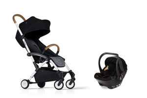 Bumprider Connect White | Grey 2in1 Travel System