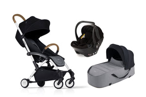 Bumprider Connect White | Grey 4in1 Travel System