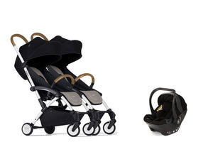 Bumprider Connect White | SIBLING Beige 2in1 Travel System