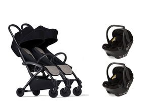 Bumprider Connect Black | TWIN Beige 2in1 Travel System