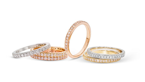 8 Different Ways to Build the Perfect Ring Stack
