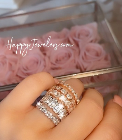Can I Mix and Match White, Rose, Yellow Gold Wedding Rings?