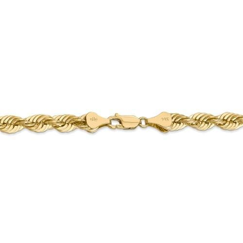 6.00mm Gold Rope Chain - Happy Jewelers