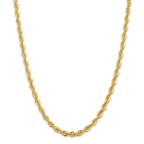 6.00mm Gold Rope Chain - Happy Jewelers Fine Jewelry Lifetime Warranty