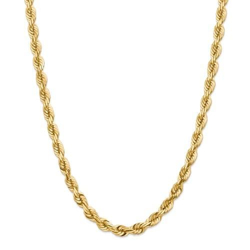 7.00mm Gold Rope Chain - Happy Jewelers Fine Jewelry Lifetime Warranty