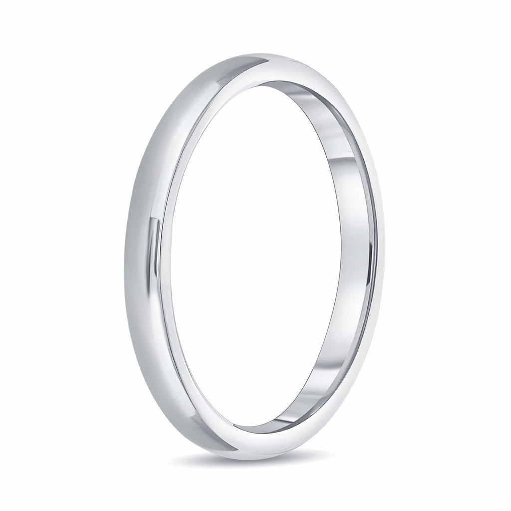 "2mm ""For Her"" Band - Happy Jewelers Fine Jewelry Lifetime Warranty"