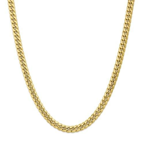 7.00mm Miami Cuban Chain - Happy Jewelers