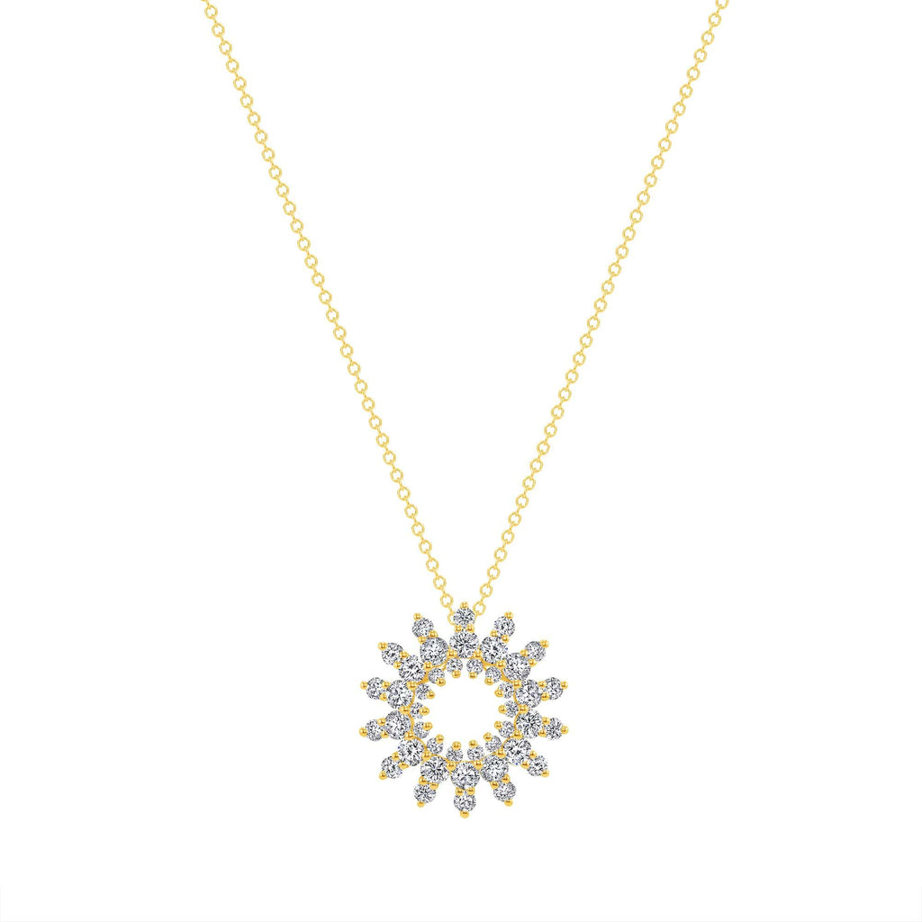 Open Starburst Pendant - Happy Jewelers Fine Jewelry Lifetime Warranty