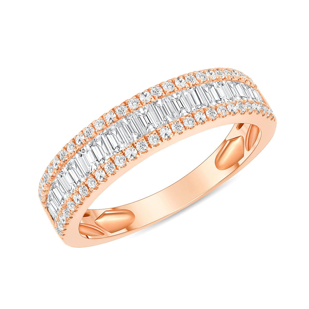 Baguette Diamond Band - Happy Jewelers Fine Jewelry Lifetime Warranty