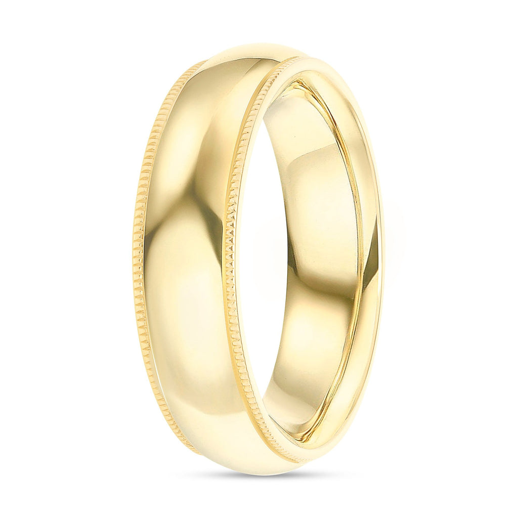 Polished Band - Happy Jewelers Fine Jewelry Lifetime Warranty