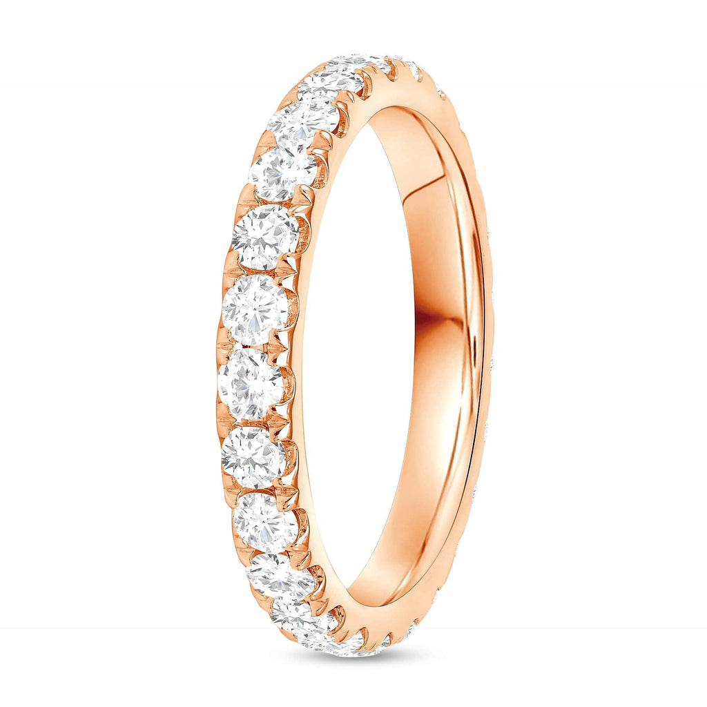 2.9mm Diamond Eternity Band - Happy Jewelers Fine Jewelry Lifetime Warranty